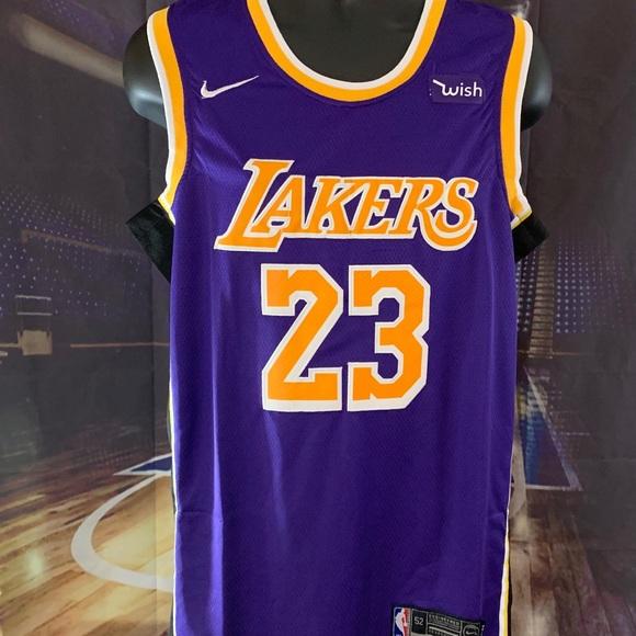 08e5ec3e7 Los Angeles Lakers  23 James. NWT. Nike